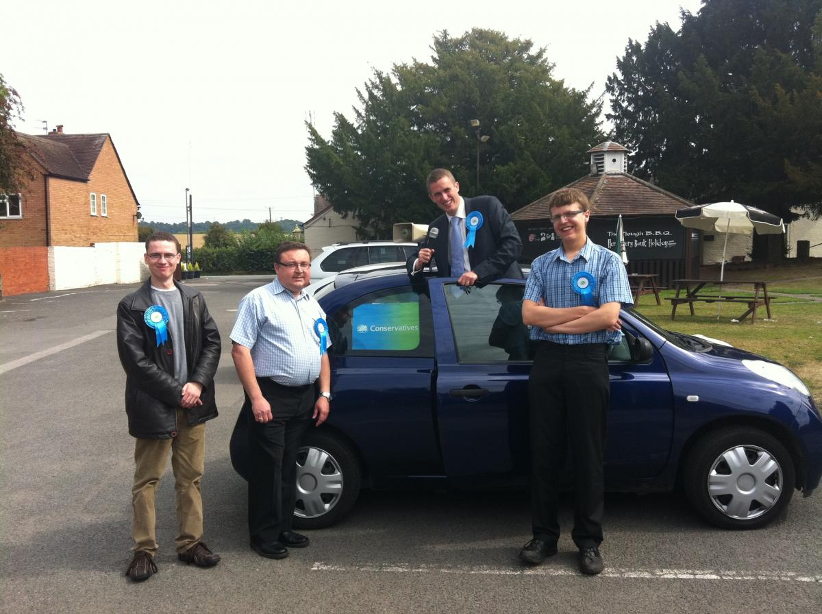 Canvassing Hard in Seisdon!
